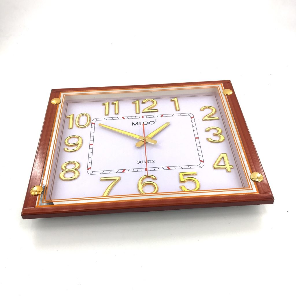 Đồng hồ treo tường hình vuông F64