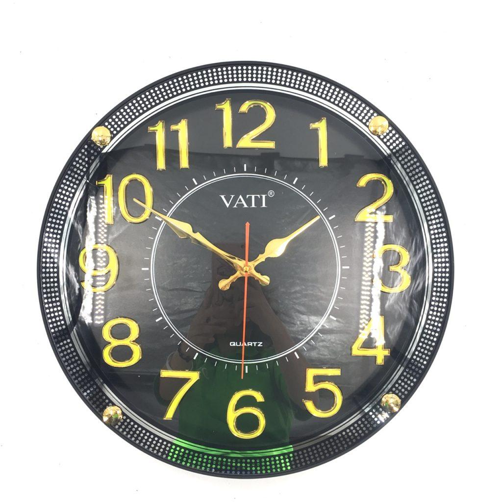 Đồng hồ treo tường hình tròn F58