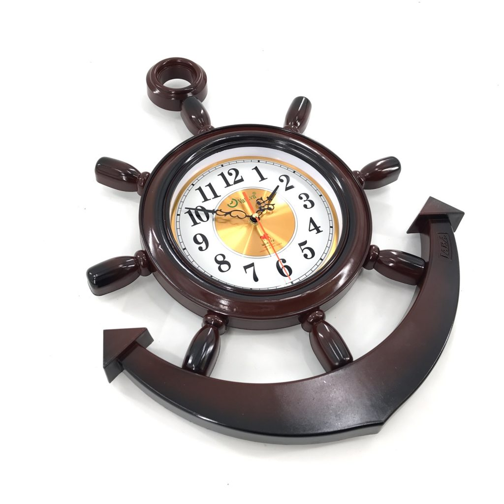 Đồng hồ treo tưởng mỏ neo F08