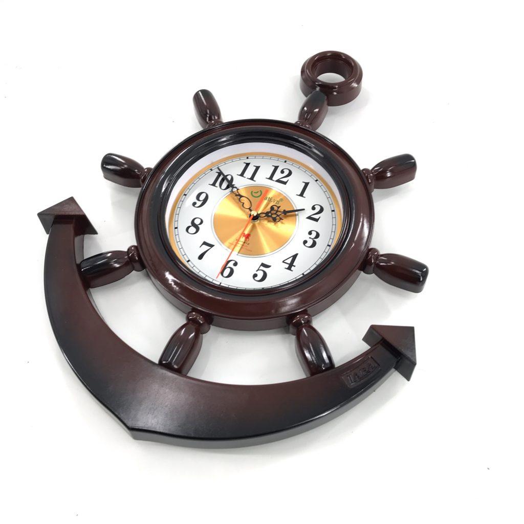 đồng hồ treo tường nhựa mỏ neo