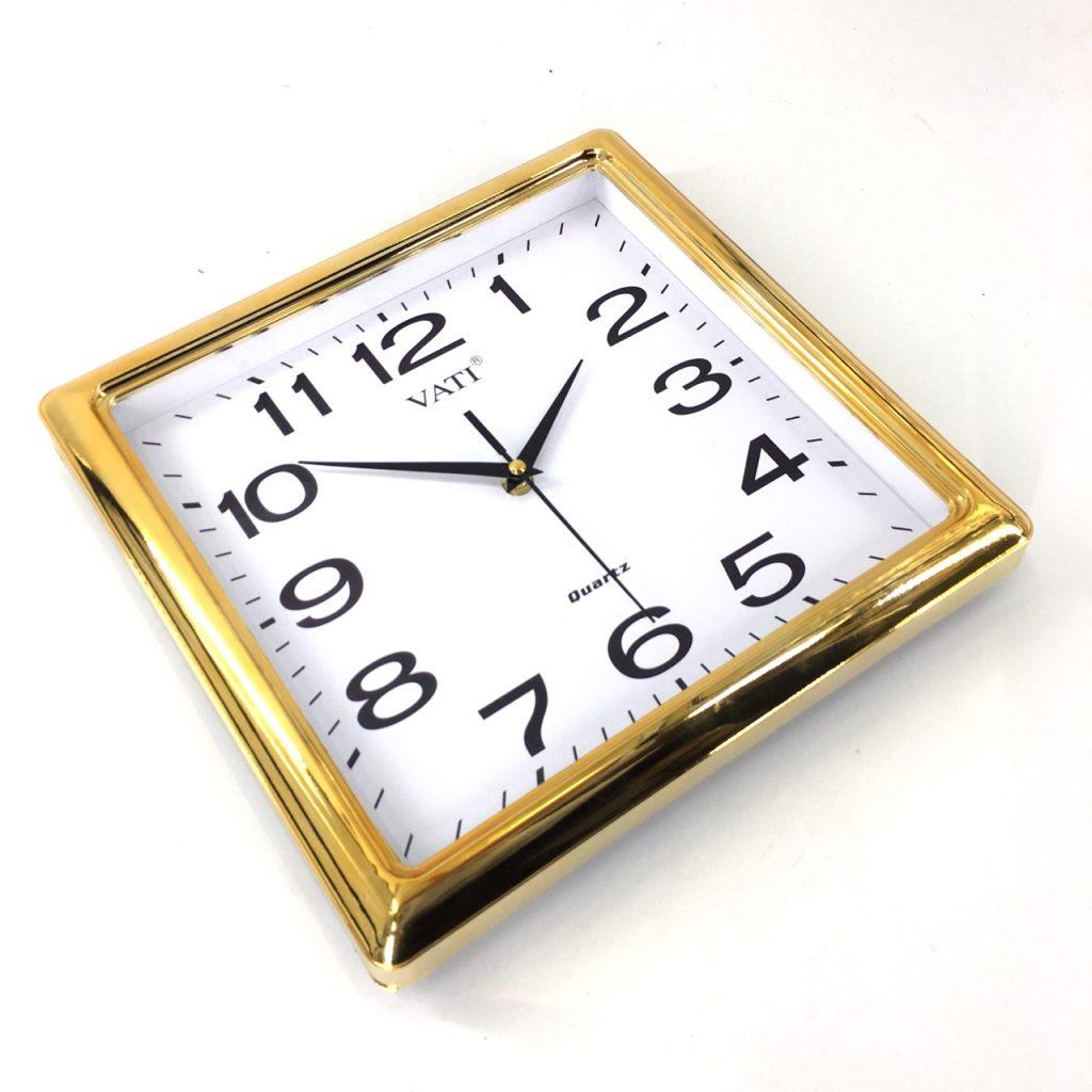 Đồng hồ treo tường hình vuông F72