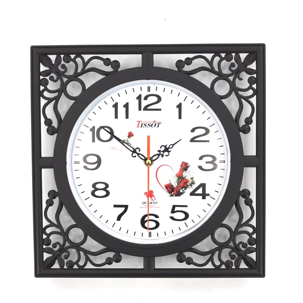 đồng hồ treo tường nhựa