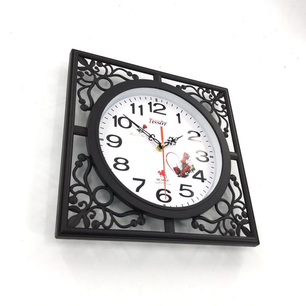 Đồng hồ treo tường hình vuông S12