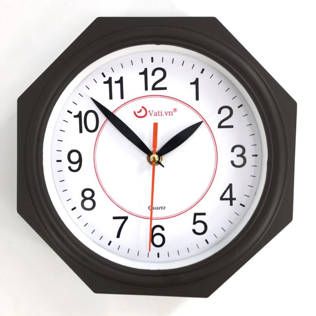 Đồng hồ treo tường hình bát giác S107