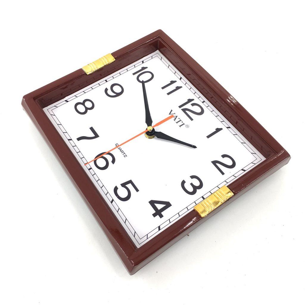 Đồng hồ treo tường hình vuông F23