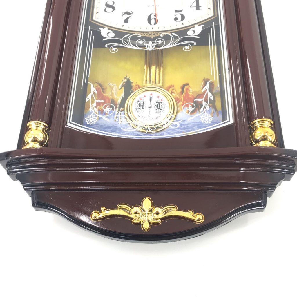 Đồng hồ treo tường quả lắc F25