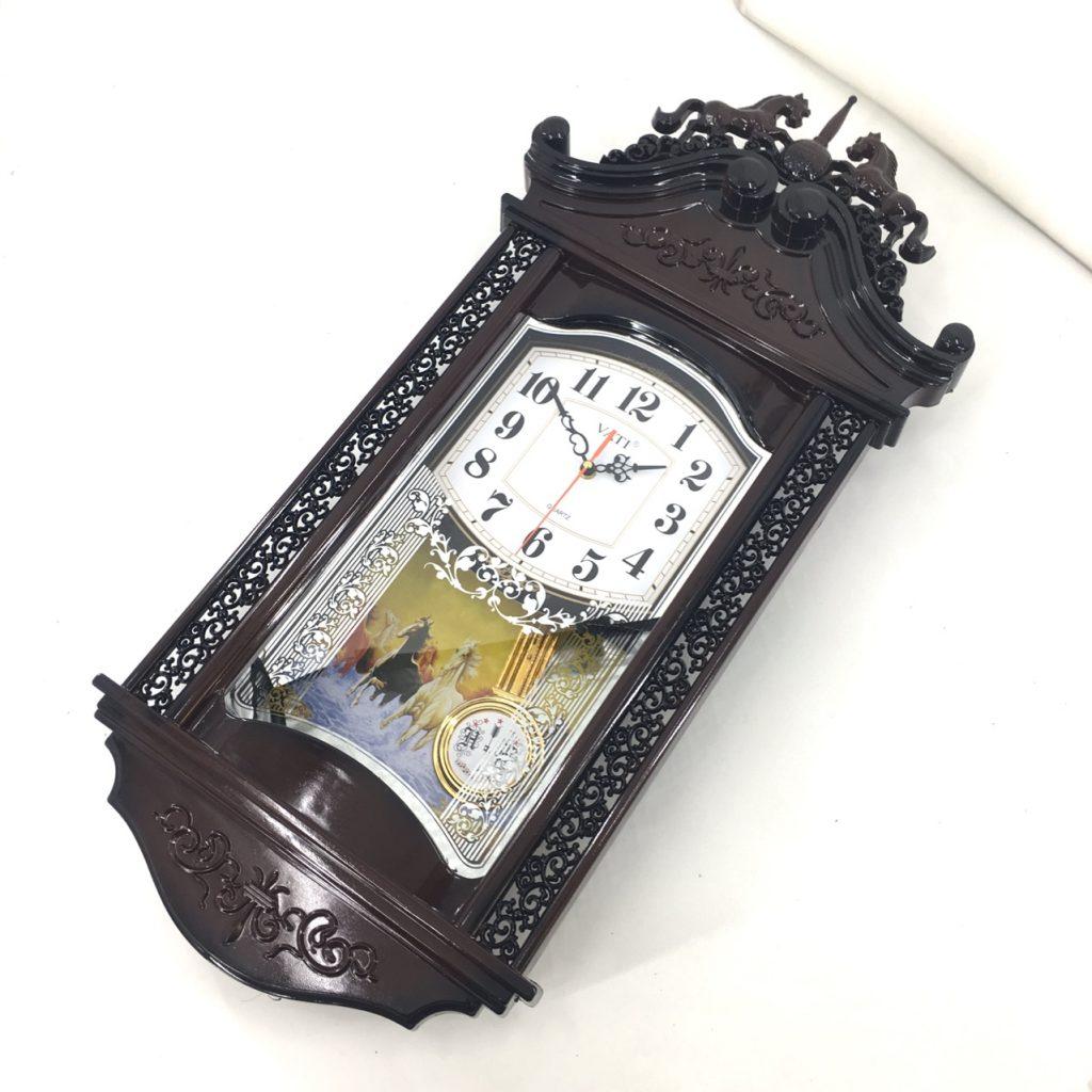 Đồng hồ treo tường quả lắc F36