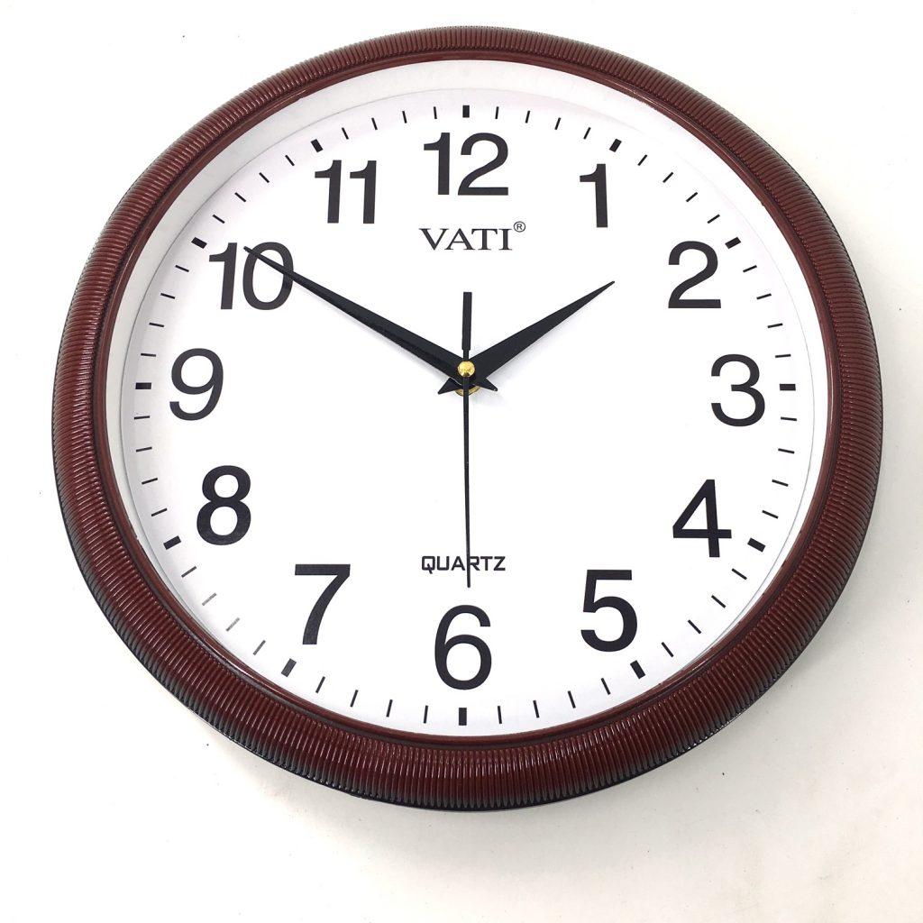 Đồng hồ treo tường hình tròn F62