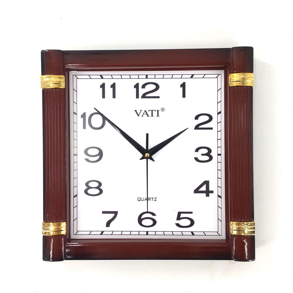 Đồng hồ treo tường hình vuông F06