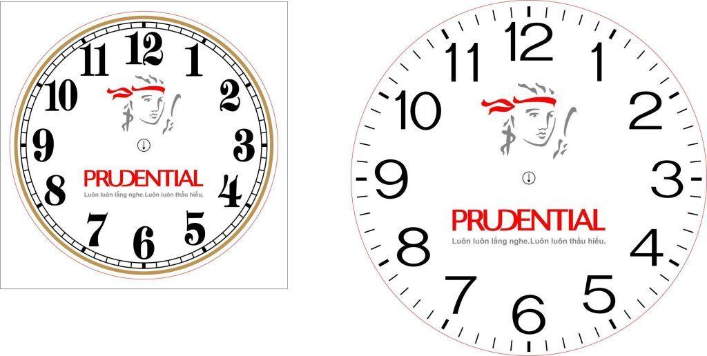 In logo lên đồng hồ treo tường với nhiều lợi ích
