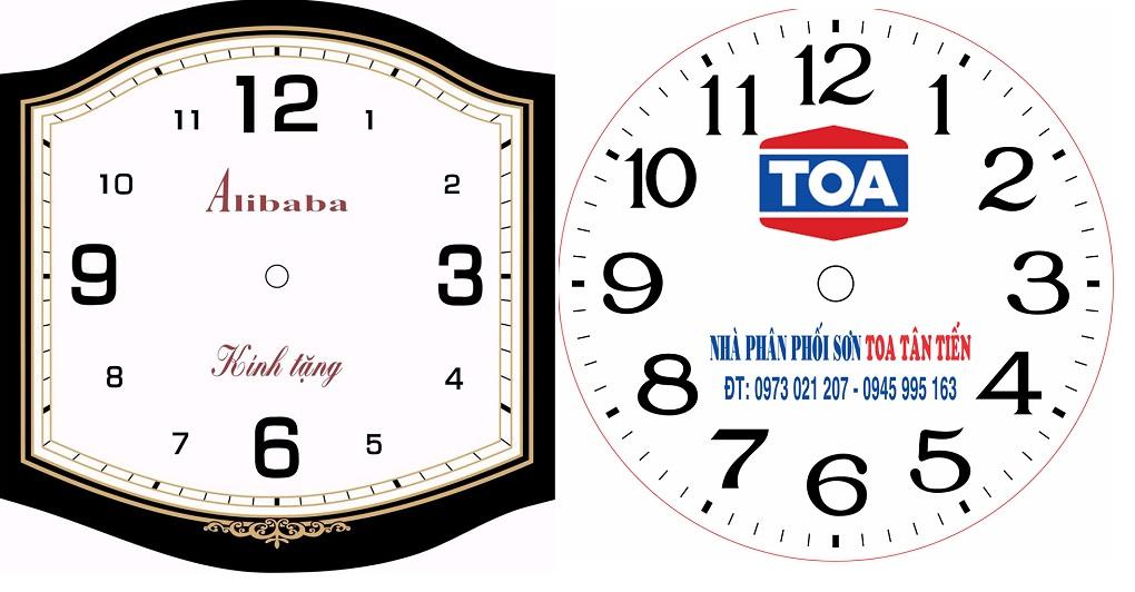 Những lợi ích khi sử dụng đồng hồ treo tường in logo công ty làm quà tặng khách hàng