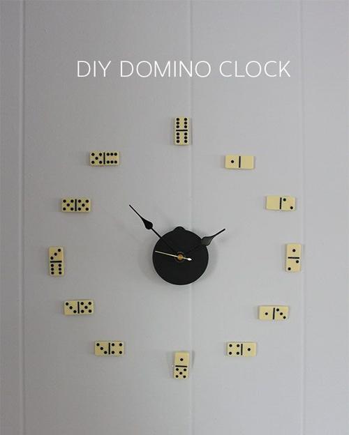 đồng hồ treo tường tự chế hình chó mèo