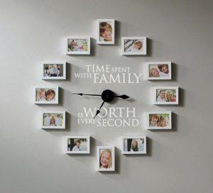 Lựa chọn đồng hồ treo tường phù hợp với gia định bạn