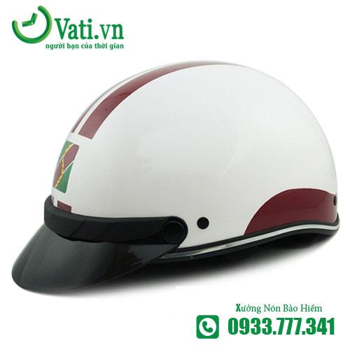 xưởng sản xuất Mũ Nón Bảo Hiểm In Logo agribank Làm quà tặng Vati