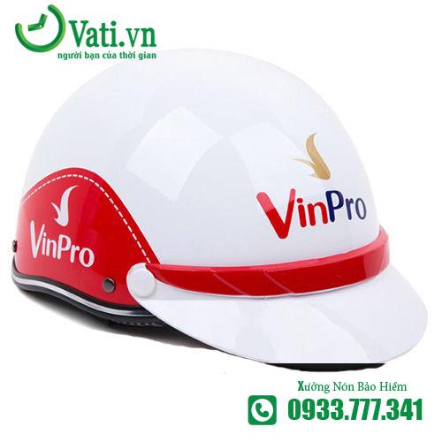 Mũ Nón Bảo Hiểm In Logo vinpro Làm Quà Tặng