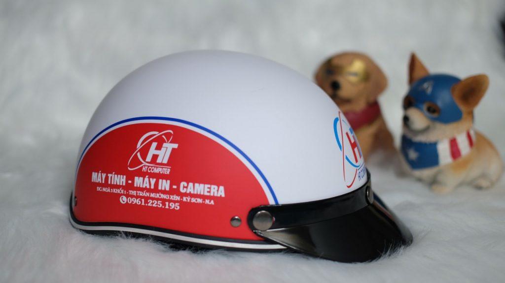 Nên làm nón bảo hiểm in logo khi nào ?