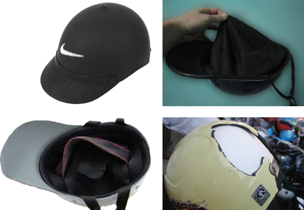 Cách phân biệt nón mũ bảo hiểm quà tặng đạt chuẩn và kém chất lượng