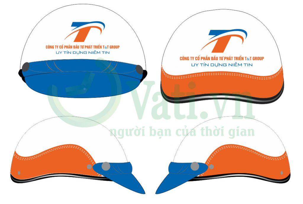 Quy trình sản xuất mũ nón bảo hiểm in logo tại Vati