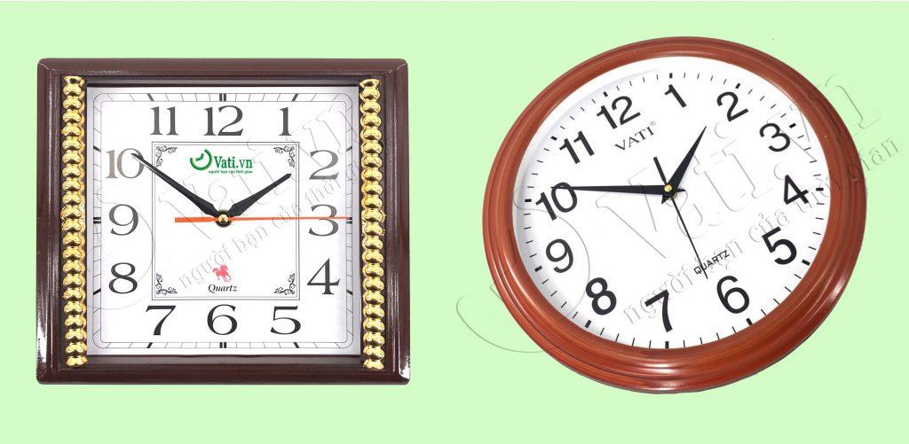 Xưởng sản xuất đồng hồ treo tường in logo tại Vati