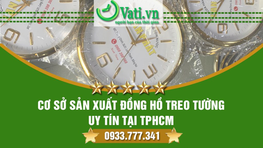 Mua đồng hồ treo tường TPHCM ở đâu?