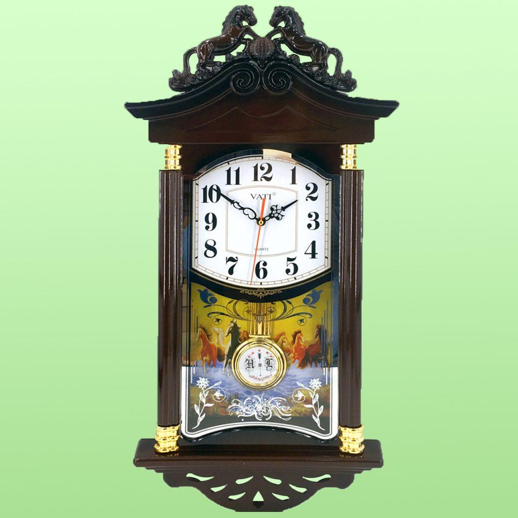 Đồng hồ treo tường gỗ đẹp - Quà tặng doanh nghiệp